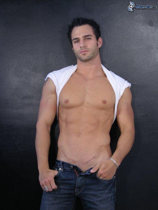 [imagenes.4ever.eu] marco dapper, hombre musculoso, pecho, camiseta 143033