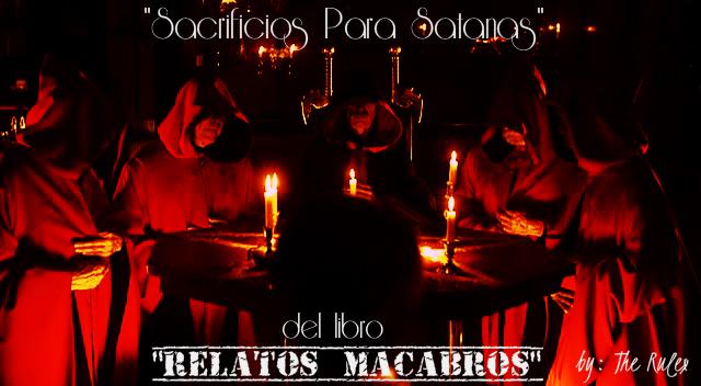 Sacrificios para Satanas